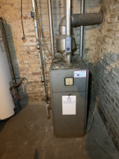Basement furnace repaired in the Calgary area.